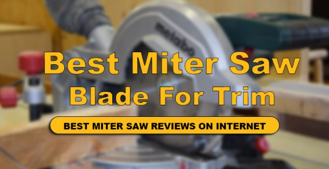 We have Reviews of Top 10 Best Miter Saw Blade For Trim Work In Detail.
