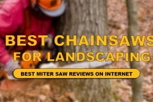 best chainsaw for landscaping